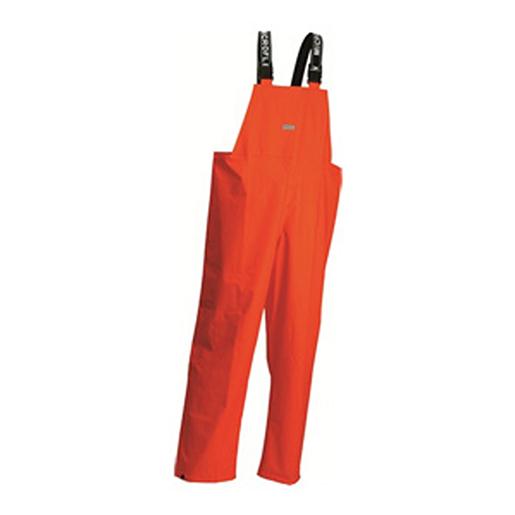 Flammenhemmende Regenlatzhose MicrofleX orange