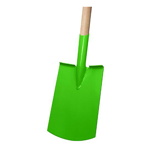 Gärtnerspaten grün,Gr. 2 ,T-Stiel 85cm