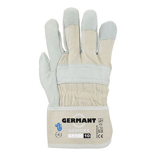 Rindvolllederhands. GEWORX G5100 Gr.10
