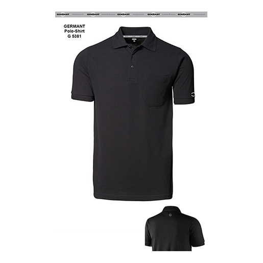 Polo-Shirt LITHIUM G5381 schwarz