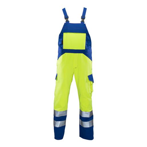 Warnlatzhose Multinorm #358 gelb/k.blau