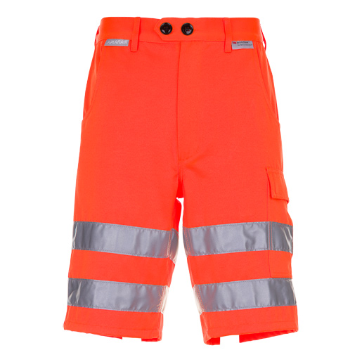 Warnschutz Shorts uni orange