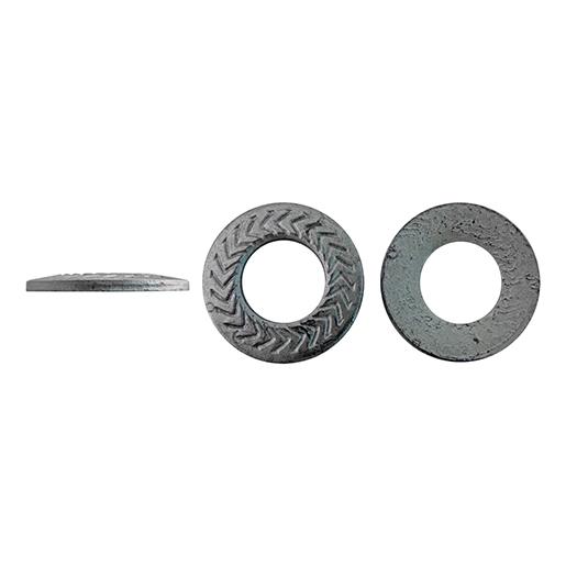 Artikel 88123 TECKENTRUP-Sperrkantscheibe S Stahl verzinkt silbrig