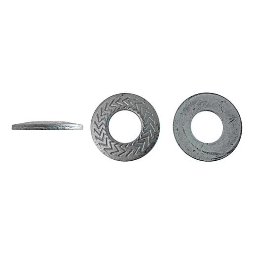 Artikel 88124 TECKENTRUP-Sperrkantscheibe M Stahl verzinkt silbrig