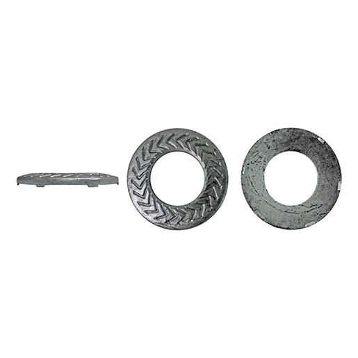 Artikel 88129 TECKENTRUP-Sperrkantscheibe K Stahl verzinkt silbrig