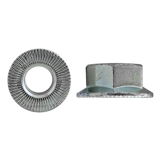 Artikel 88914 RIPP-Muttern Stahl 10.9 galvanisch verzinkt