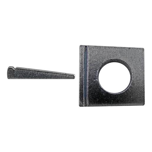 DIN 435 Scheiben, vierkant Stahl