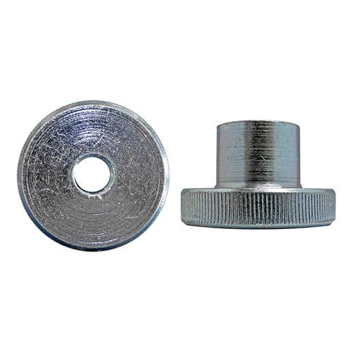 DIN 466 Rändelmuttern, hohe Form Stahl 5 galvanisch verzinkt