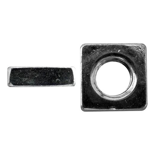 DIN 562 Vierkantmuttern, niedr. Form Stahl 04 galvanisch verzinkt