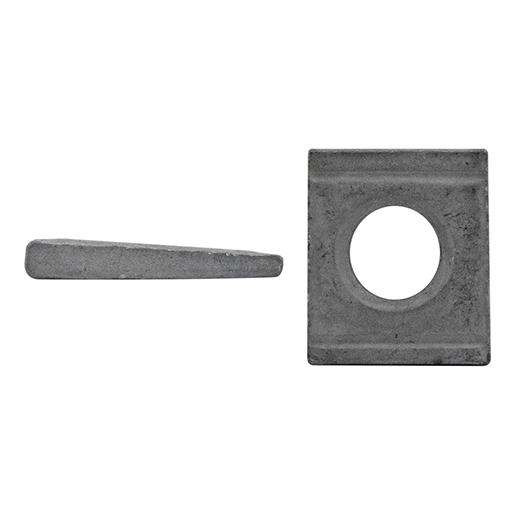 DIN 6918 Scheiben, vierkant, für HV Stahl vergütet feuerverzinkt