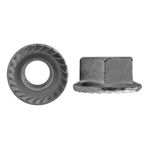D 6923 Flanschm.m.Sperrzähnen Stahl 8 galvanisch verzinkt