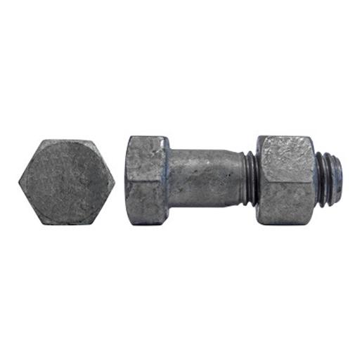 DIN 7990 Sechskantschrauben Stahl 4.6 feuerverzinkt
