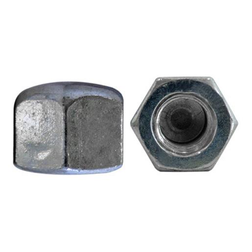 DIN 917 Sechskant-Hutmuttern Stahl 6