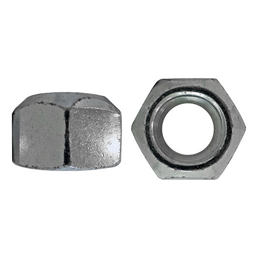 DIN 980 Sechskantmuttern Feingewinde Stahl 10.9 galvanisch verzinkt