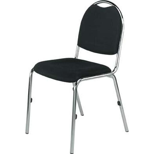 Metallstuhl ohne Armlehnen