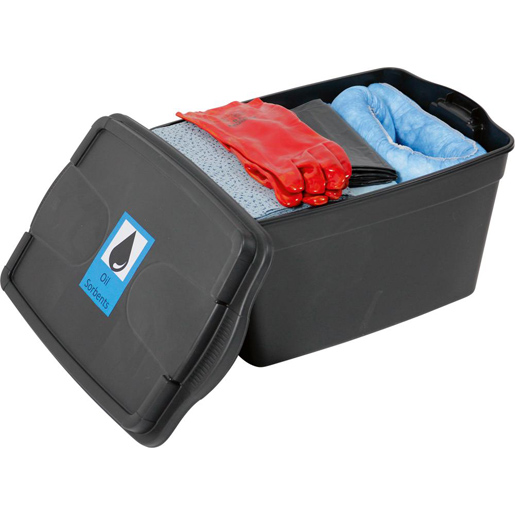 Sorbents, Notfallset 50 Liter in Koffer