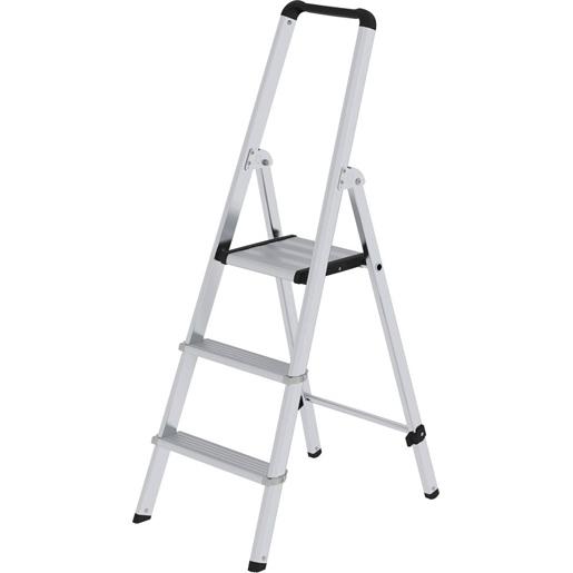 Alu-Stufen-Stehleit. ML, einseitig beg.