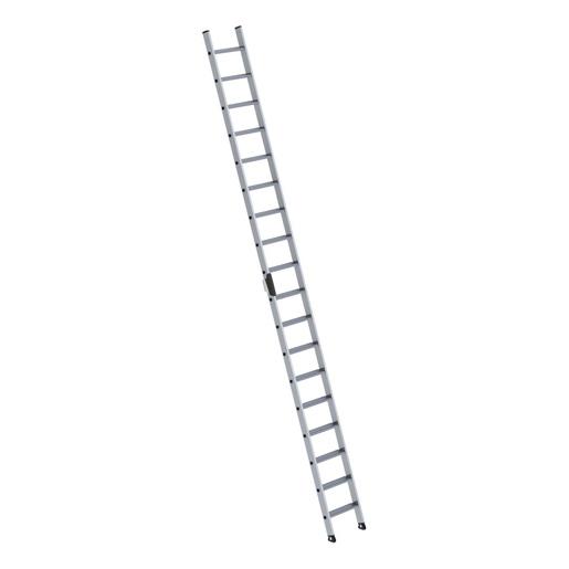 Alu-Stufen-Anlegeleiter 2,80 - 3,80 m H.
