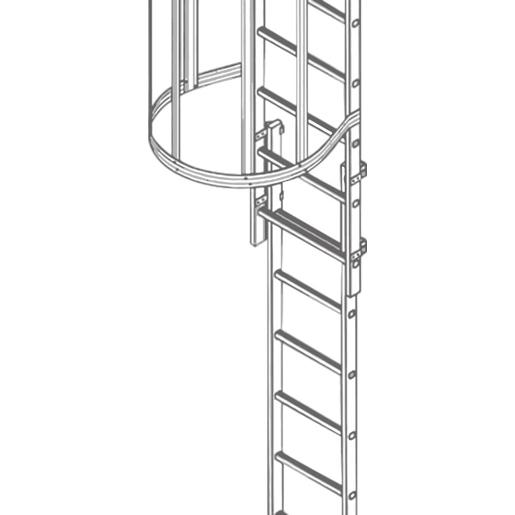 Fluchtleiter LM ca. 2,50 m