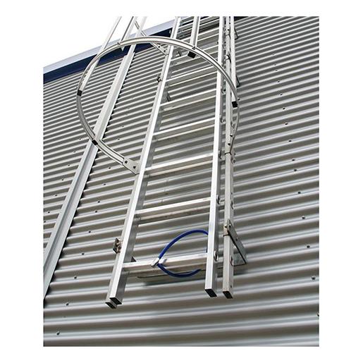 Aluminium-Einstiegsleiter Alu blank