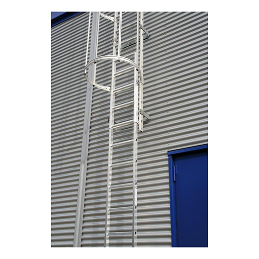 Alu-Notabstiegsleiter Alu blank 2,50 m
