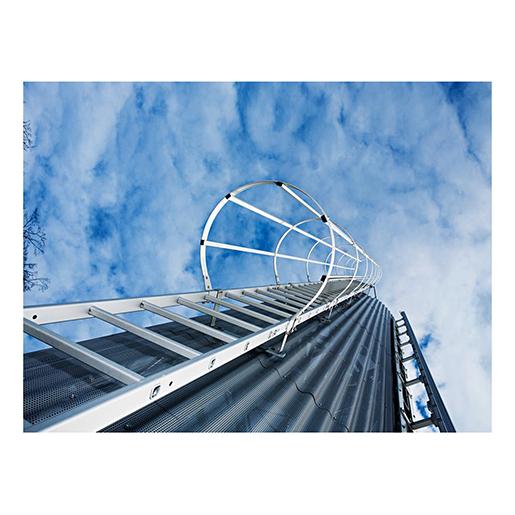 Umsteigeplattform zw. Leiterzügen D700mm