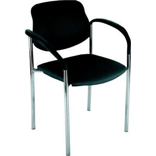 Stühle STYL,mit Armlehne,Gestell chrom