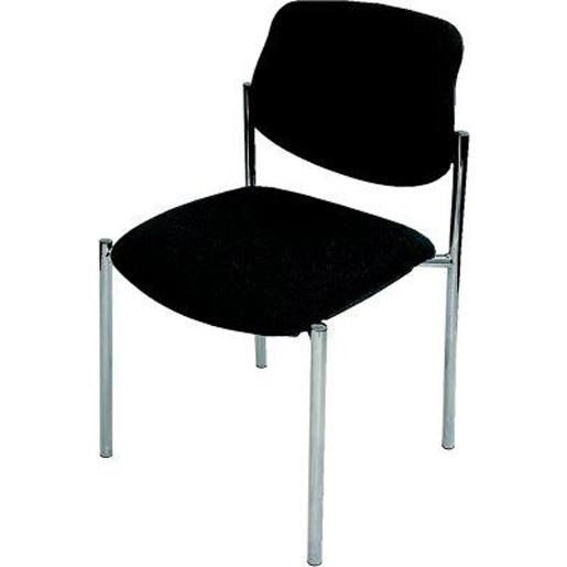 Stühle STYL,ohne Armlehne,Gestell chrom