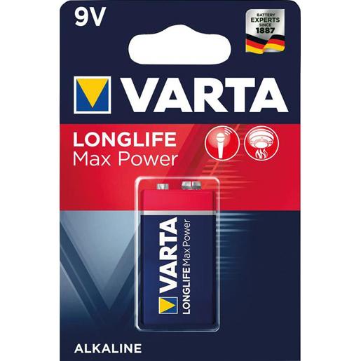 MAX TECH Batterie 9V-Block, 1-er Blister