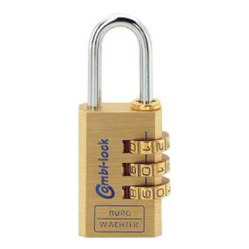 Messing-Vorhangschloss Combi Lock 80