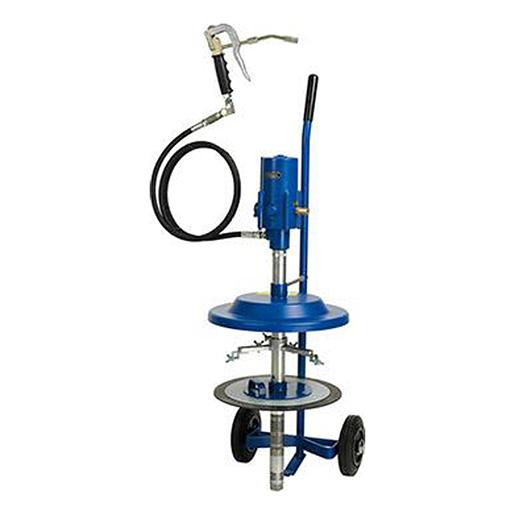 Druckluft-Abschmiergerät