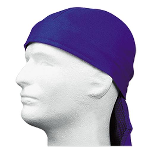 Kopftuch Gewebe, feuer- fest, blau