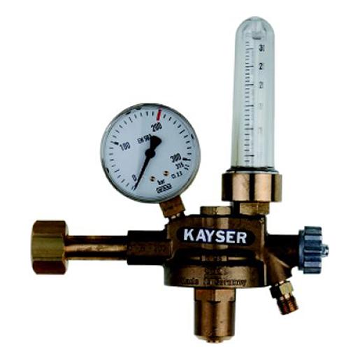 Druckminderer mit Flowmeter