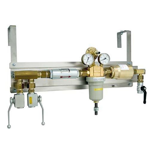 Druckregelstation Typ 386NPL f. Acetylen