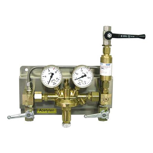 Druckregelstation Typ 684NG f. Acetylen