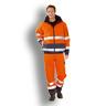 Warn-Comfort-Jacke orange/marine