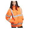 Warnschutz Pilotjacke orange