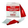 Sperrband,rot-weiß 500 mtr. Reißfest