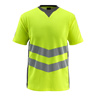 Warn-T-Shirt Sandwell,Gr.L,gel/d.anthr