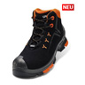 Stiefel 6509/1-3 schw. S3 PU/PU W10-12