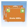 Erste Hilfe Koffer,mit Füllung DIN13169