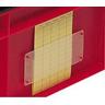 Etikettentasche f. Stapeltransportkasten