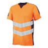 Warn-T-Shirt Sandwell,Gr.4XL,oran/sw.bl