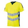 Warn-T-Shirt Sandwell,Gr.3XL,gel/sw.bl